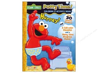Clearance Books: Coloring & Activity Book with Posters Sesame Street