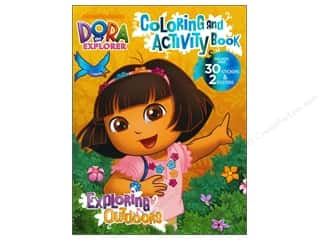 Clearance Books: Coloring & Activity Book with Posters Dora the Explorer