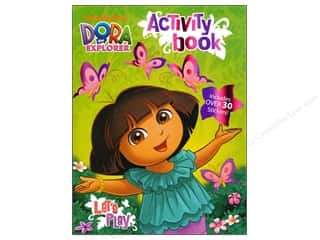 Books $0-$3 Clearance: Activity Book with Stickers Dora the Explorer