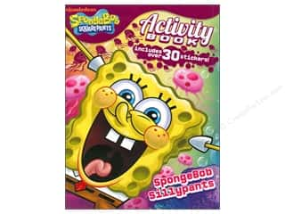 Bendon Activity Book with Stickers SpongeBob SquarePants