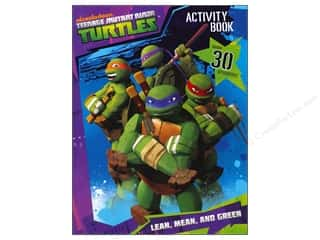 Books & Patterns Bendon Books: Bendon Activity Book with Stickers Teenage Mutant Ninja Turtles