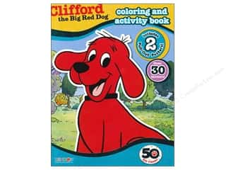 $0-$3 Books Clearance: Coloring & Activity Book with Posters Clifford the Big Red Dog