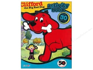 Bendon Activity Book with Stickers Clifford the Big Red Dog