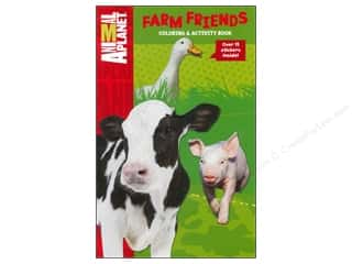 Farms Clearance Crafts: Bendon Coloring & Activity Book with Stickers Animal Planet