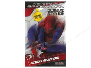$0-$3 Books Clearance: Coloring & Activity Book with Stickers Spiderman 4