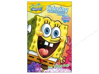 Books $0-$3 Clearance: Coloring & Activity Sticker Book SpongeBob Squarepants