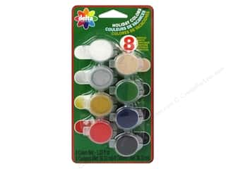Paints: Delta Ceramcoat Paint Pot Set Holiday - 8 Colors