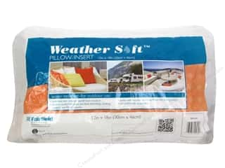 Pillow Shams Craft & Hobbies: Fairfield Pillow Insert 12 x 18 in. Weather Soft