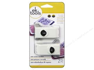 photo corner paper punch: EK Paper Shapers Punch Set Mini Corner Rounder 2 pc.