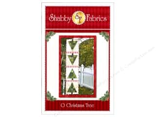 Shabby Fabrics Table Runners / Kitchen Linen Patterns: Shabby Fabrics O Christmas Tree Pattern