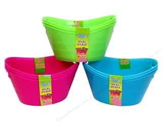 Playtime Bucket Oval Assorted 3 pc. (48 pieces)