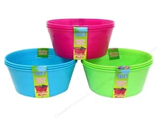 Playtime Bucket Round Assorted 3 pc. (48 pieces)