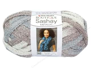 Red Heart Boutique Sashay Yarn #9946 Metallic Opal 30 yd.
