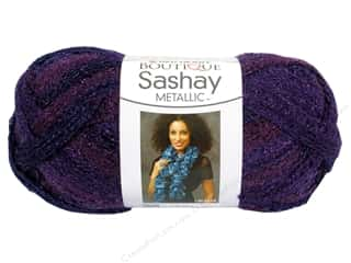 Red Heart Boutique Sashay Yarn #9949 Metallic Amethyst 30 yd.