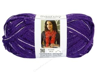 Clearance Red Heart Designer Sport Yarn: Red Heart Boutique Sashay Yarn #1575 Sparkle Lilac 35 yd.