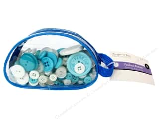Sew-on Buttons: Fashion Buttons Ocean 3 oz.
