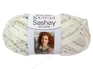 Red Heart Boutique Sashay Yarn 3.5 oz. Sequin Champagne
