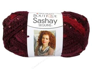 Red Heart Boutique Sashay Yarn 3.5 oz. Cabernet