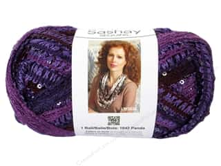 Red Heart Boutique Sashay Yarn 3.5 oz. Sequin Concord