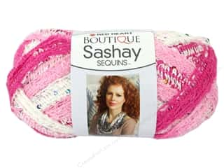 Red Heart Boutique Sashay Yarn 3.5 oz. Cotton Candy