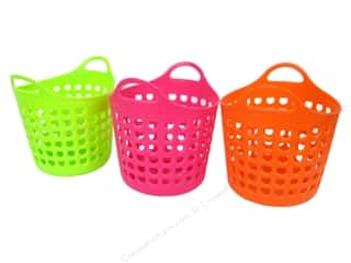 Hearts Basic Components: Utility Basket 4 1/4 x 4 1/4 in. Assorted (24 pieces)