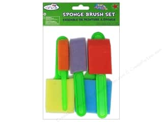 Sponges $8 - $18: Craft Medley Sponge Brush Set 5 pc.