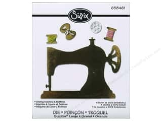Sewing Machines: Sizzix Sizzlits Die Sewing Machine & Bobbins by Jen Long