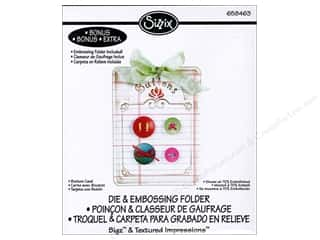 Sizzix: Sizzix Bigz Die with TI Button Card