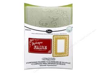 Laces $4 - $6: Sizzix Embossing Folders Jen Long Textured Impressions Antique Faire & Lace