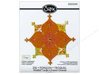 Flowers Sizzix Die: Sizzix Sizzlits Die Flower Arabesque by Dena Designs