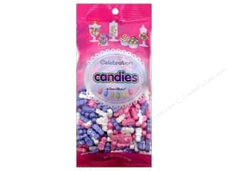 Edibles / Foods inches: SweetWorks Celebration Candies 12 oz. Pacifiers Lavender/Pink/White