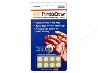 Finger Protector/Thimbles $9 - $42: Colonial Needle Thimble Crown 9 pc.