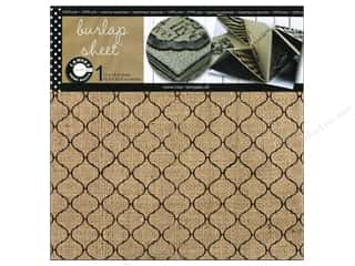 Canvas Corp Sheet 12x12 Printed Burlap Tile (10 piece)