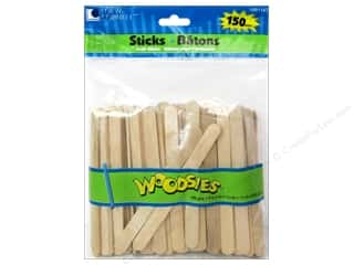 2013 Crafties - Best New Craft Supply: Woodsies Craft Stick 150 pc.