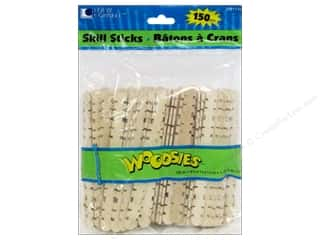 Loew Cornell Doll Making: Woodsies Skill Sticks 150 pc.
