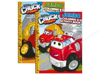 Activity Books / Puzzle Books: Jumbo Coloring & Activity Book Tonka Chuck & Friends
