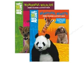 Activity Books / Puzzle Books: Jumbo Coloring & Activity Book Animal Planet Assorted