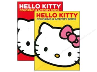 Activity Books / Puzzle Books: Jumbo Coloring & Activity Book Hello Kitty Assorted