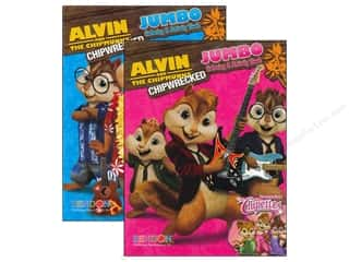 $0-$3 Books Clearance: Jumbo Coloring & Activity Book Alvin and the Chipmunks