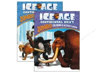 Activity Books / Puzzle Books: Jumbo Coloring & Activity Book Ice Age 4 Assorted