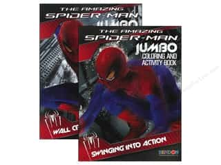 Jumbo Coloring & Activity Astd Spiderman 4 Book