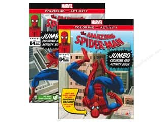 Jumbo Coloring & Activity Astd Spiderman Book