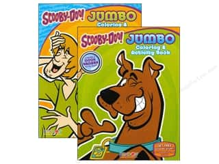 Jumbo Coloring & Activity Astd Scooby-Doo Book
