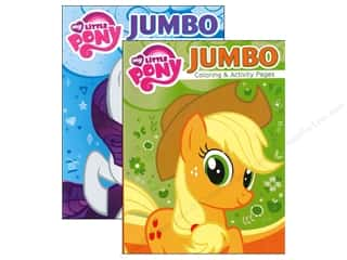 Jumbo Coloring & Activity Astd My Little Pony Book