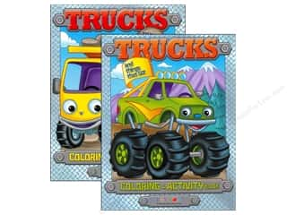 $0-$3 Books Clearance: Jumbo Coloring & Activity Book Trucks and Things That Go
