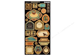 Graphic 45 Die Cut Chipboard Steampunk Spells 2