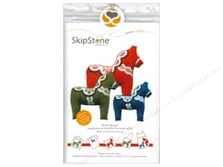 Doll Making Clearance Books: SkipStone Creative Dala Horse Stuffie Pattern