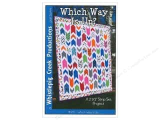 Whistlepig Quilt Patterns: Whistlepig Creek Which Way is Up Pattern