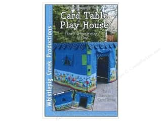 Printing Books & Patterns: Whistlepig Creek What's Bugging You Card Table Play House Pattern