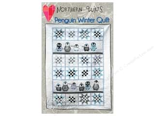 Patches Animals: Northern Quilts Penguin Winter Quilt Pattern